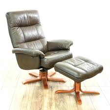 Lounge Chair Ottoman by Brown Leather Recliner And Ottoman Set Design Ideas Cool Mobel