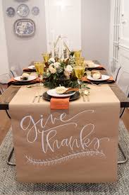thanksgiving table setting house of house of