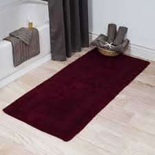sumptuous design long bathroom rugs modest ideas memory foam 24 x