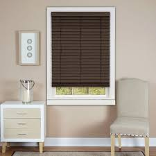 2 Inch White Faux Wood Blinds White Valance Faux Wood Blinds Blinds The Home Depot