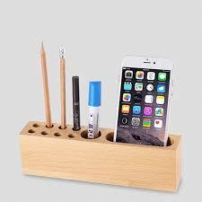 wooden pencil holder plans online get cheap desk phone pen holder aliexpress alibaba group