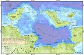 Sound Map British Virgin Islands Map