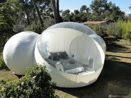 suite chic u0026 design for an unusual night in a bubble adventure