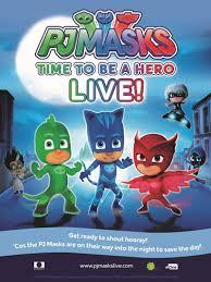 pj masks live hero u0027 hit road