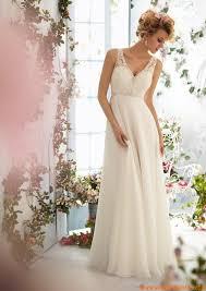 empire mariage robe de mariage empire mousseline dentelle perles