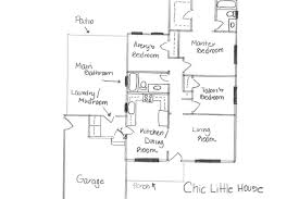 chic little house our home the floor plan mudroom addition