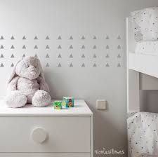 silver triangle wall decals triangle wall stickers silver
