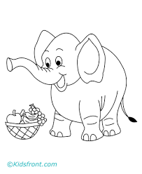 elephant coloring pages elephant coloring pages kids