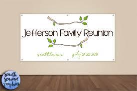 Family Reunion Invitation Cards Family Reunion Banner Family Reunion Photo Backdrop Family
