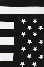 Black And White Us Flag Lyst Urban Outfitters American Flag Beach Towel In Black