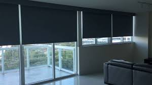 somfy motorized blackout roller shades youtube