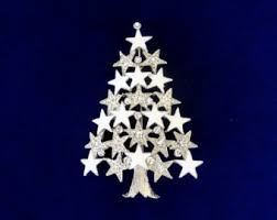 White Christmas Star Decorations by Christmas Star Etsy