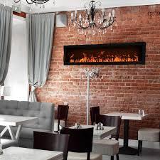 dimplex opti myst 1000 cassette linear modern electric fireplace