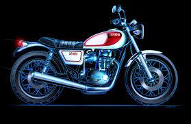 future honda motorcycles yamaha xs650 concept