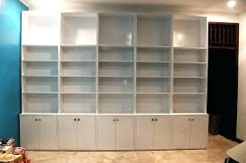 Billy Bookcase With Doors Ikea Bookcase With Doors New Bookcase With Glass Doors White