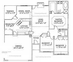 Floor Plan Of A House Design Plain Simple House Floor Plan With Dimensions Bedroom Ranch Plans