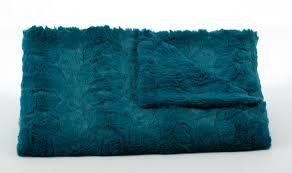 Faux Fox Fur Throw Lux Teal Soft Faux Fur Blanket Twinkle Twinkle Little One