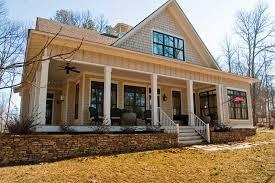 Farmhouse Blueprints by One Story Farmhouse Plans With Porches Elegant Kitchen Curtains