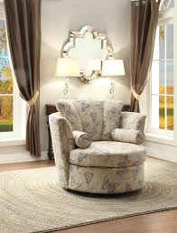 Large Swivel Chairs Living Room Living Room Charming Living Space Presented With White Swivel