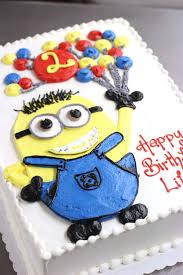minion birthday cake children s birthday specialty custom fondant cakes sussex county nj
