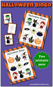 Gift Halloween by Halloween Bingo Game Free Printable Gift Of Curiosity