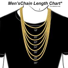 mens necklace chains length images 18k solid yellow gold 3mm cuban curb link chain jpg