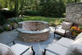 Patio And Firepit Pit Contemporary Patio Chicago By Schmechtig Landscapes