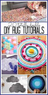 How To Make My Own Rug Best 25 Rag Rug Tutorial Ideas On Pinterest Braided Rug