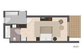 hotel chambre avec terrasse turquoise hotel 1 lake house avec terrasse