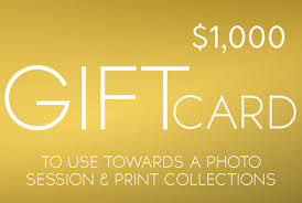 1000 gift card gift cards spino photo portrait photographer