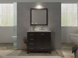 Bathroom Sinks With Vanity Units by Ace Cambridge 37 Inch Single Sink Bathroom Vanity Set Right