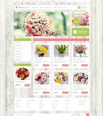 Flowershop Flower Shop Opencart Templates
