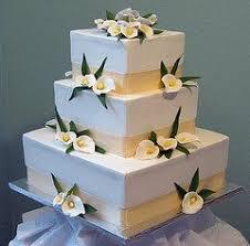 Square Wedding Cakes Square Wedding Cakes Unique Wedding Cakes