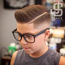 hairstyle boy in photo how to give your kid a mod fade haircut