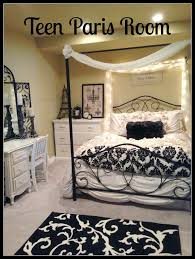 Small Teenage Bedroom Decorated With Paisley Wallpaper And by Secret Agent Paris Themed Bedroom Bedroom Ideas Pinterest