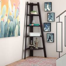 Corner Bookcase Ideas Corner Bookcases You Ll Wayfair