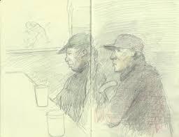 random acts of portrait drawing in philadelphia