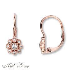 glamorous neil lane rings at kays jewelers kay neil lane designs 1 4 cttw diamond earrings 14k rose gold