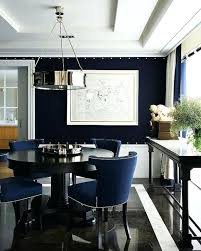 navy blue and white dining room chairs chair cushions covers cover