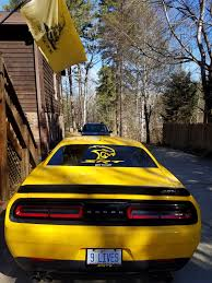 Dodge Challenger Yellow - here is a few pictures of my yellow jacket yellow 2017 hellcat