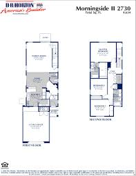 1 Car Garage Dimensions Dr Horton Morningside Ii Floor Plan Via Www Nmhometeam Com Dr