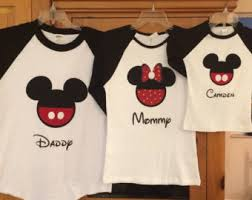 disney mickey mouse and minnie mouse shirts by mousehouseshirts