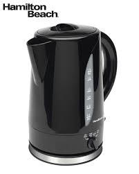 hamilton beach 1 7 l adjustable temperature cordless kettle