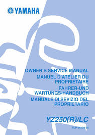 yamaha service workshop manual 2003 yz250 r lc u2022 25 00 picclick
