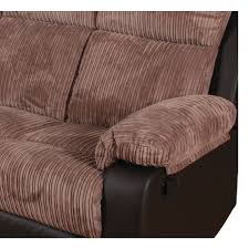 Fabric Recliner Sofa Bradley Large Fabric Recliner Sofa Furnico