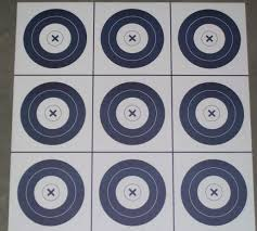archery target tic tac toe game hunting prowess pinterest