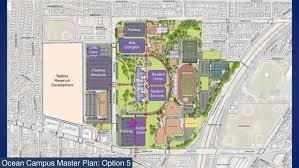 Ccsf Map Ccsf Master Plan Aims To Replace Parking Lost To Development And