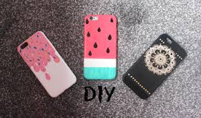 diy designs diy colourful and easy summer phone cases watermelon ice cream