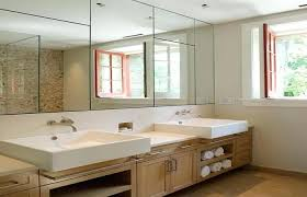 cheap mirrored bathroom cabinets mirror wall cabinet bathroom bamboo vanity wood full length