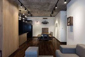 Efficient Apartment Small Apartment Redesigned For A Nostalgic Family